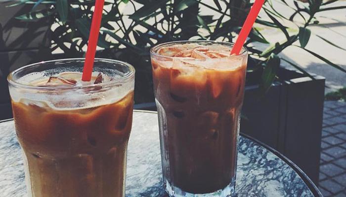 café glacé