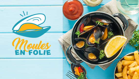 moules en folie