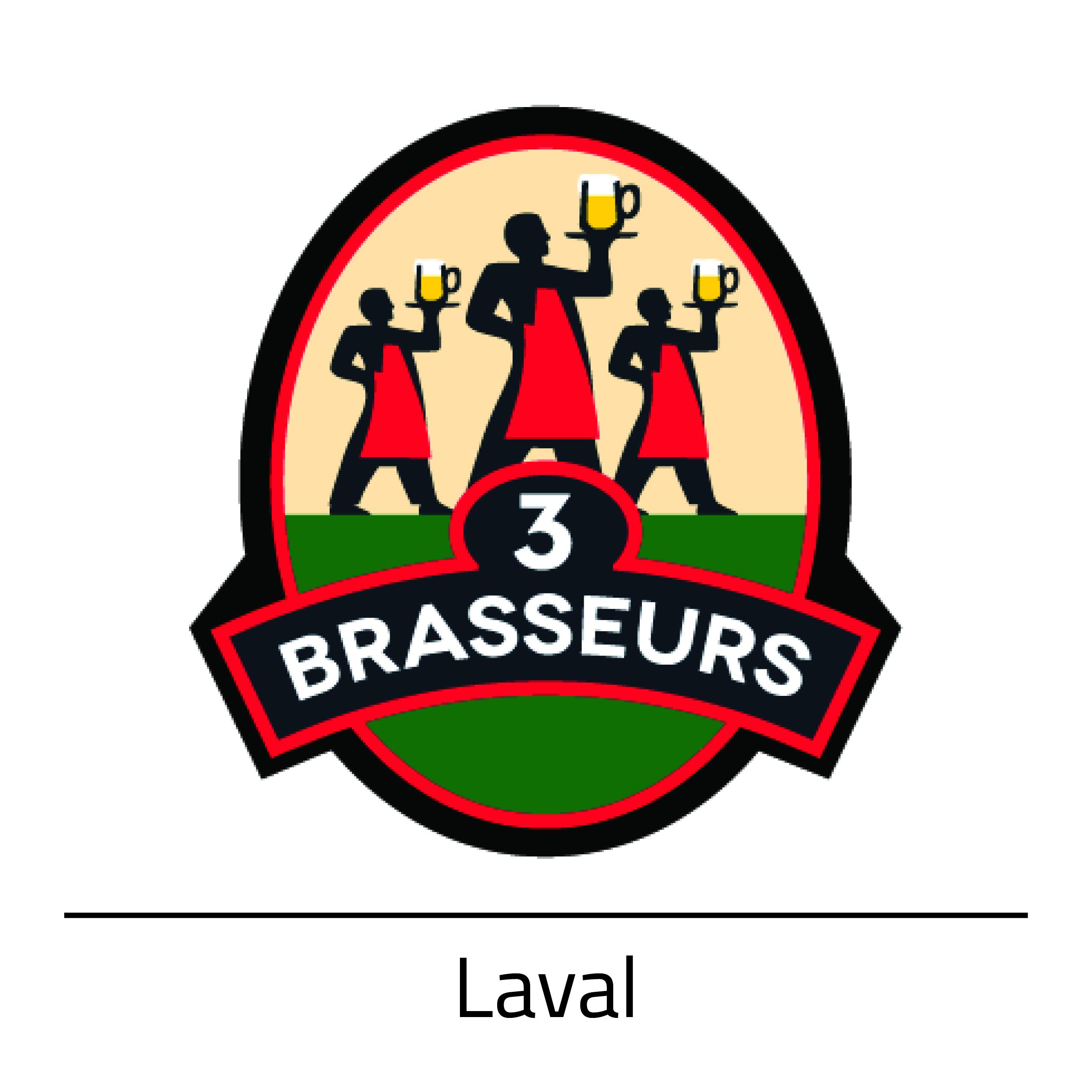 3 Brasseurs  Laval
