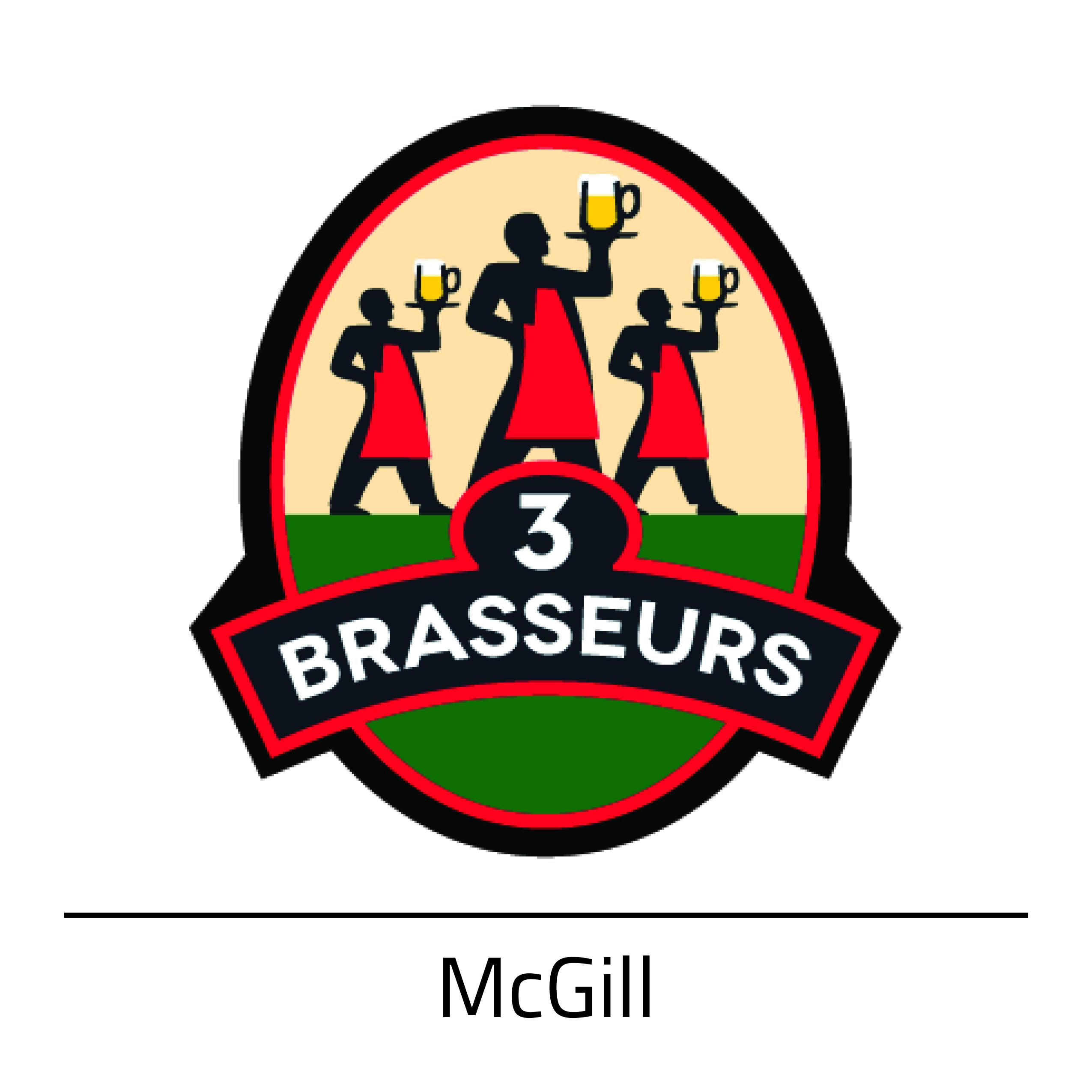 3 Brasseurs McGill