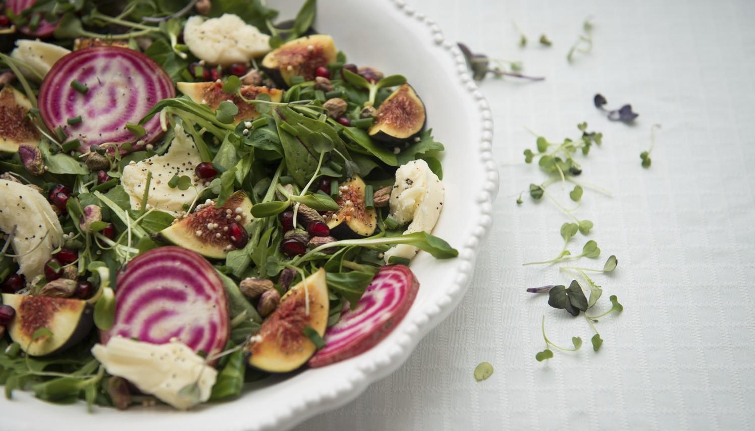 mozza fig salad